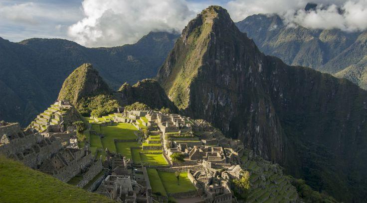 Machu Picchu - the Old Inca city, Peru, South America