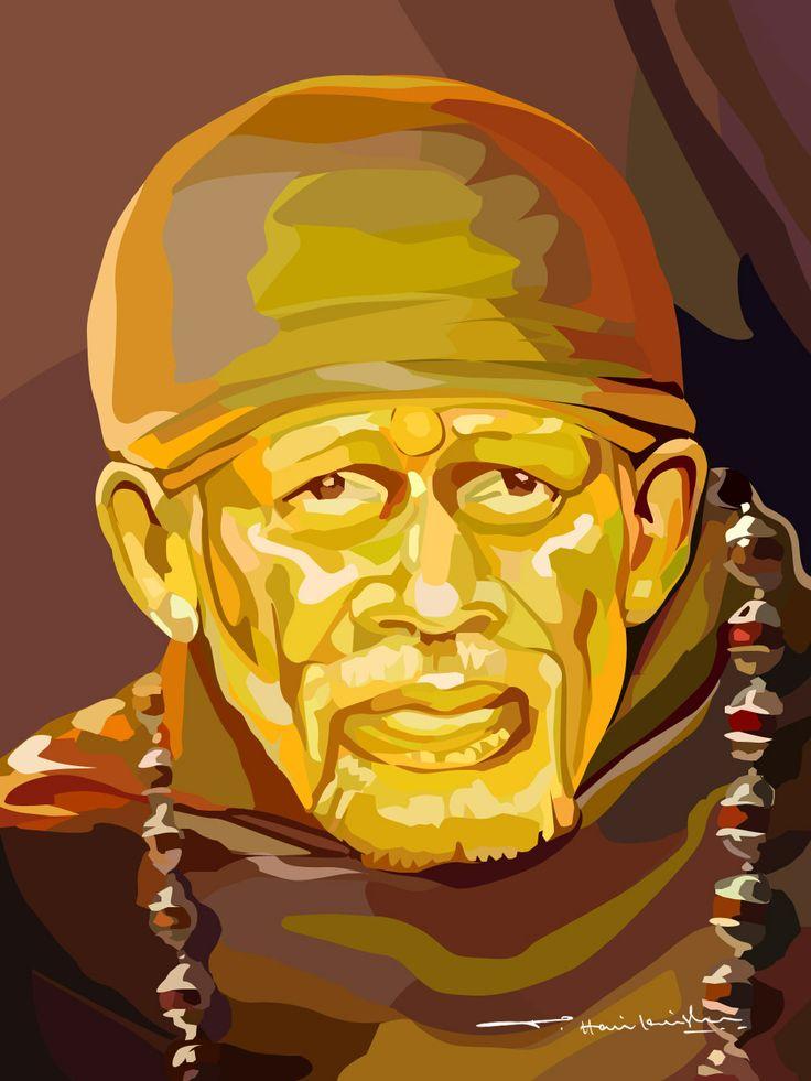 My Art Work... Sai Baba
