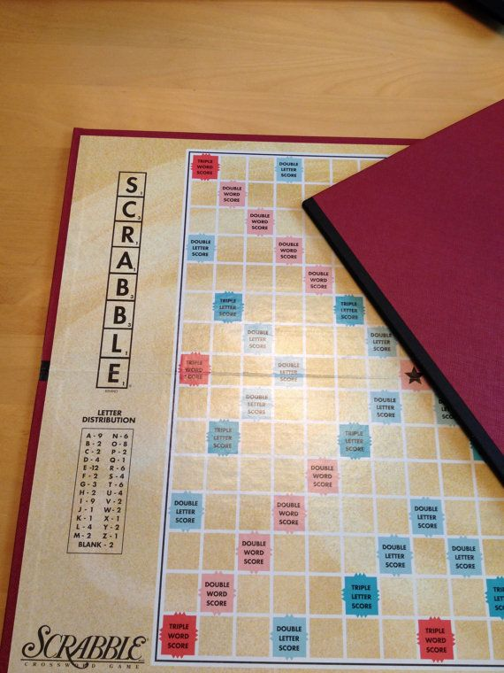 2 Scrabble Boards for Tournaments Replacements  by TheBrownPear, $5.00