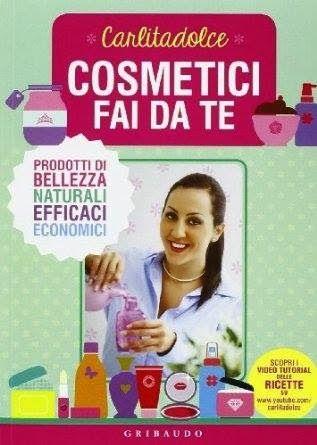 LA TÍA MARUJA: Carlitadolce y su primer libro de cosmética DIY.