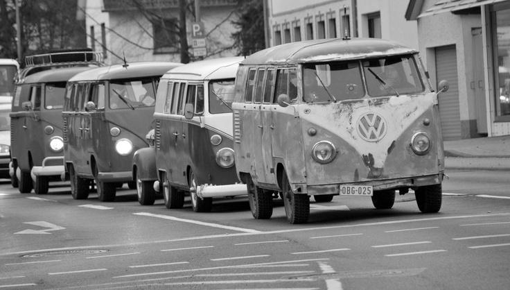VW T1 busses