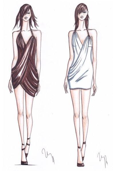 My fashion drawing
