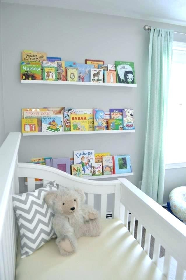 White Shelves For Nursery Large Size Of Baby Room