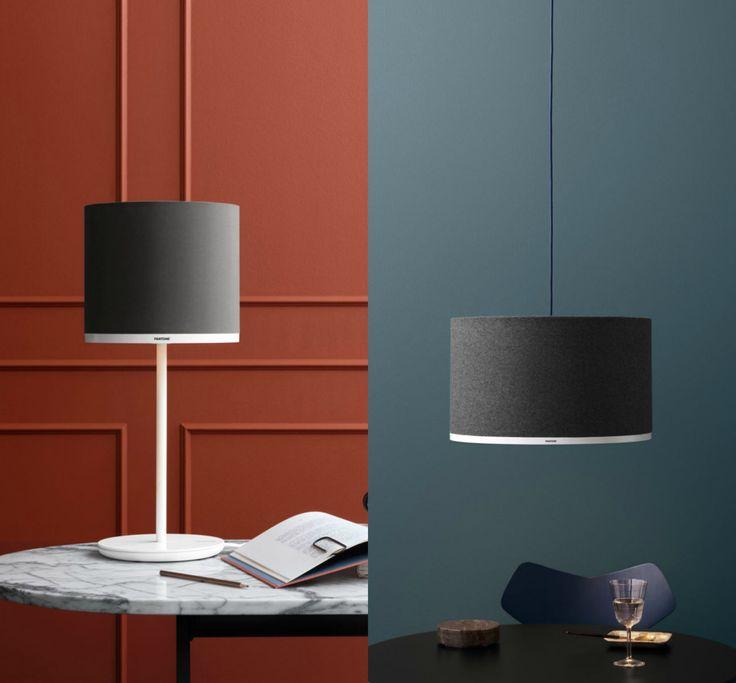 Así es la primera colección de lámparas minimalistas de PANTONE - La Criatura Creativa