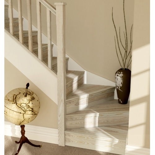 Winder Staircase For Entry U003d Extra Lift And More Consistent Runner For Rest  Of Staircase.