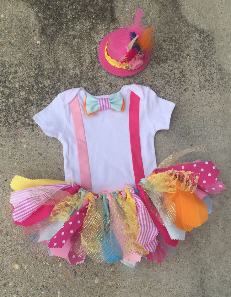 Bright Circus outfit, Clown Outfit - ringmaster costume - shabby chic ringmaster tutu outfit, orange pink and turquoise circus birthday by LilNicks on Etsy https://www.etsy.com/listing/241676497/bright-circus-outfit-clown-outfit