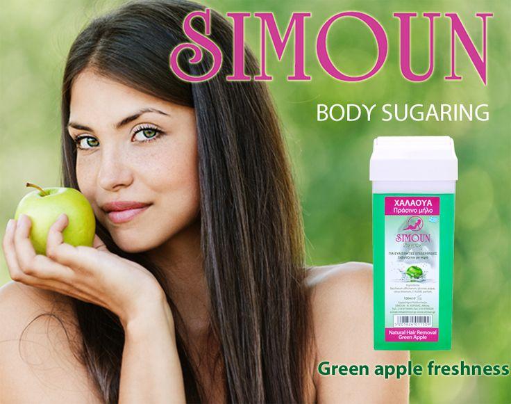 Sugar Roll-on Green apple Simoun Body Sugaring
