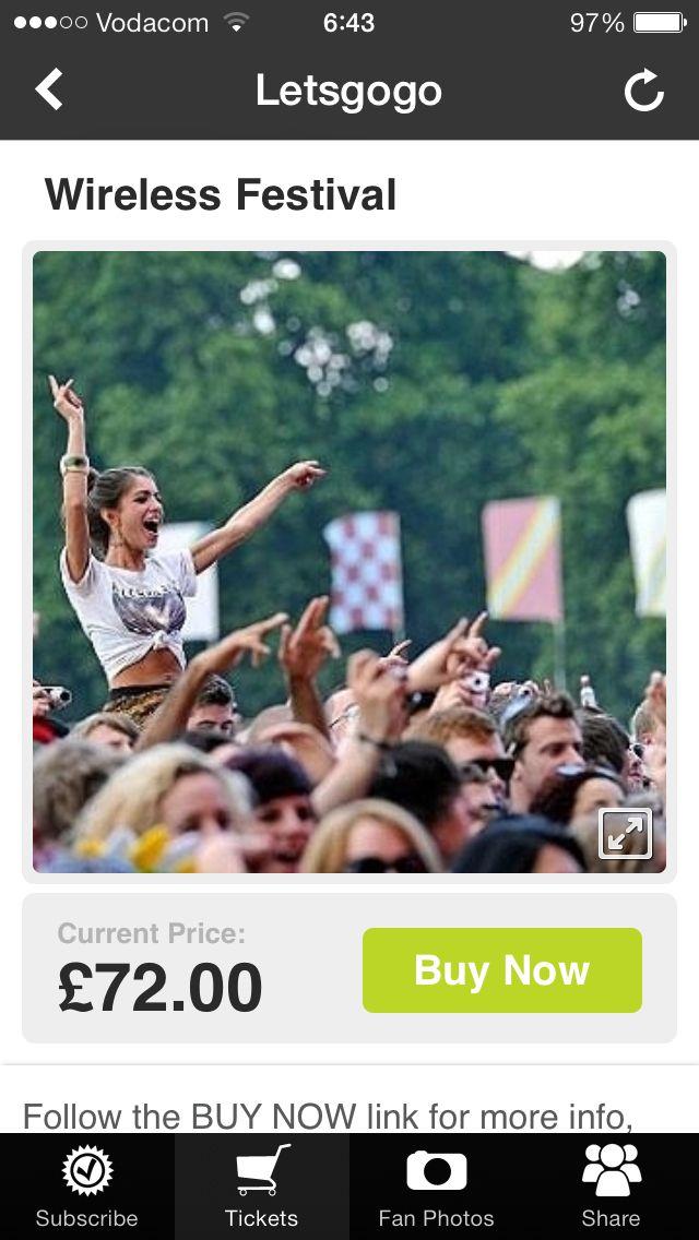 Get your #Wireless Festival tickets in our App. @WirelessFest #TicketApp