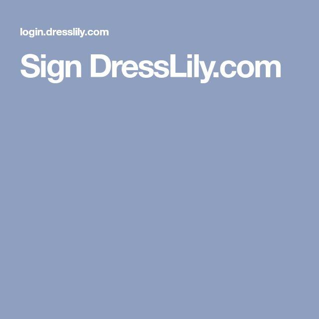 03eb848b408 Sign DressLily.com