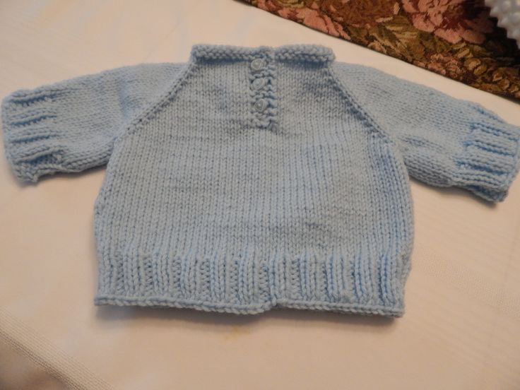3 month baby boy's sweater for charity
