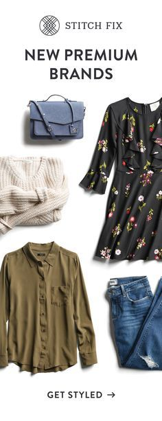Say hello to our new collection of premium & emerging brands. We offer expert styling & exclusive pieces you can't find anywhere else. Did we mention free shipping & returns? It's the perfect time to try Stitch Fix!