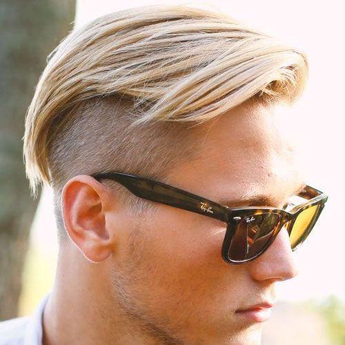 Long Comb Over + Undercut