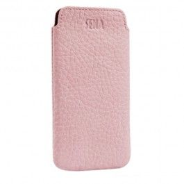 Sena UltraSlim Pouch leer roze (pink) iPhone 5 | sbsupply.nl