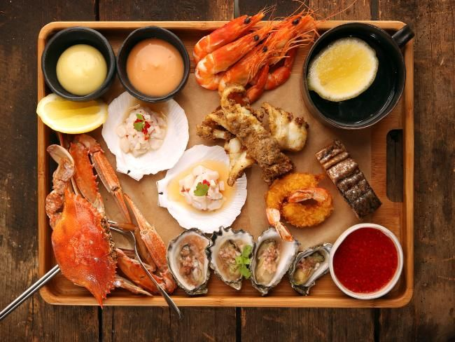 Seafood platter with a difference: West Village Petersham a good-time gastro pub worth a stop #Sydney #restaurant #seafood #foodporn #diningout #pubgrub