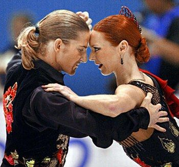 My favorite ice dance pair: Marina Anissina and Gwendal Peizerat, (Loved their Notre-Dame de Paris and Jedi routines.)