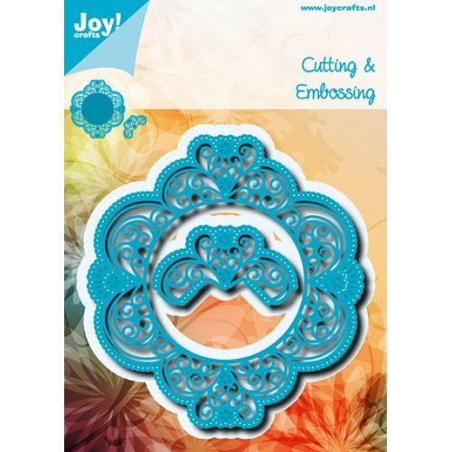 6002/0699 Noor! Design Blauw met bloemen