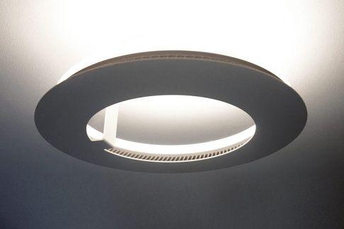 """Leuchtring für indirektes Licht: """"Circle"""" von Absolut Lighting 400€ mit LED fürs Treppenhaus!"""