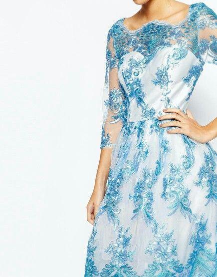 Chi Chi London - Liana (Blue) (d)