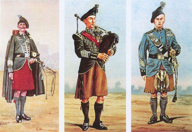 Irish Kilts   Irish Kilt History