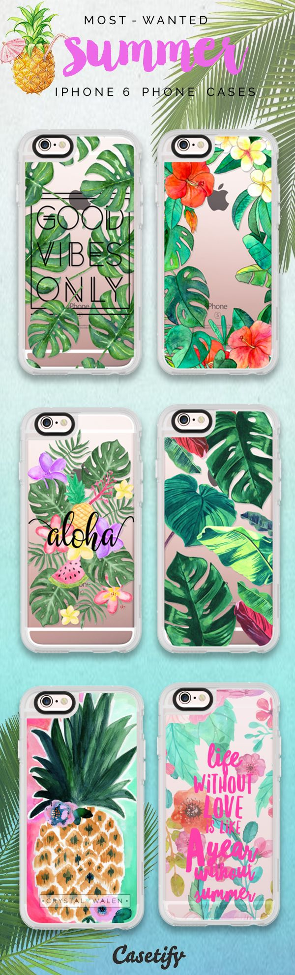 Most favourite Summer 2016 iPhone 6 protective phone case designs | Click through to see more iPhone phone case idea. Summer is upon us! >>> https://www.casetify.com/collections/summer | @casetify http://amzn.to/2qZ3RzU