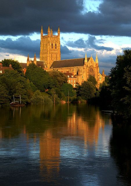 Worcester Cathedral, England