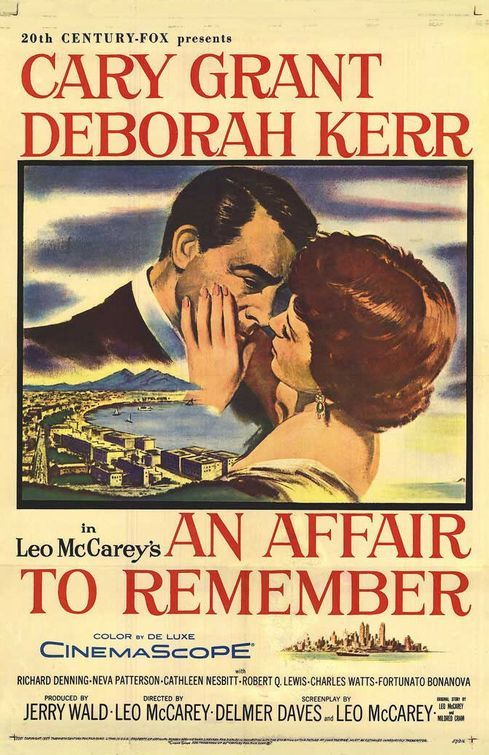 An Affair To Remember Movie 1957......Uploaded By www.1stand2ndtimearound.etsy.com