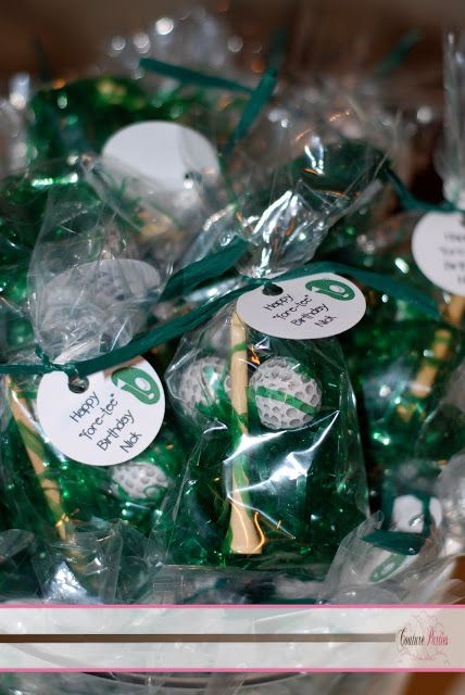 Creative Golf Party Favors