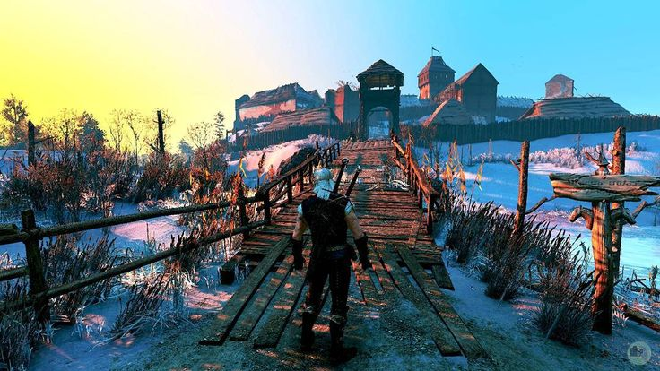 The Witcher 3 - Velen #witcher #thewitcher #pc #mod #snow #cdprojektred #screenshot #ansel #nvidia #HD #videogame #geralt #sword #velen #wild #hunt http://misstagram.com/ipost/1550639910720265444/?code=BWE-sh9Blzk