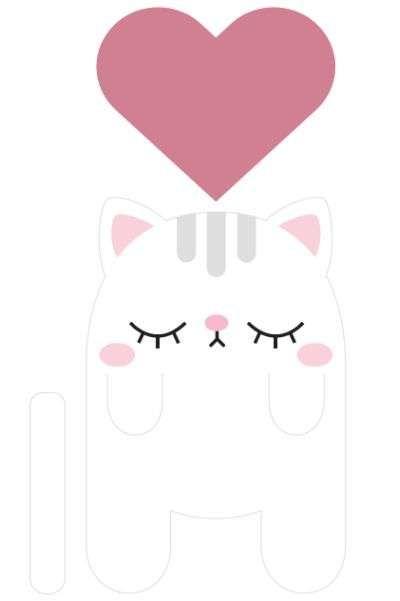 Para quem gosta de ler pode deixar estes momentos ainda mais fofos e charmosos, e para isso basta fazer facilmente um gato marcador de páginas, que é simp