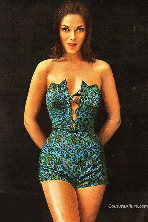 1961 one-piece swimsuit