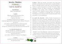 Saveurs Végétales: Crème glacée à l'avocat - coulis de chocolat cru