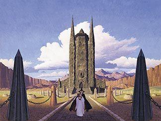 Tolkien Calendar Sep 1976 Saruman at Orthanc, Brothers Hildebrandt
