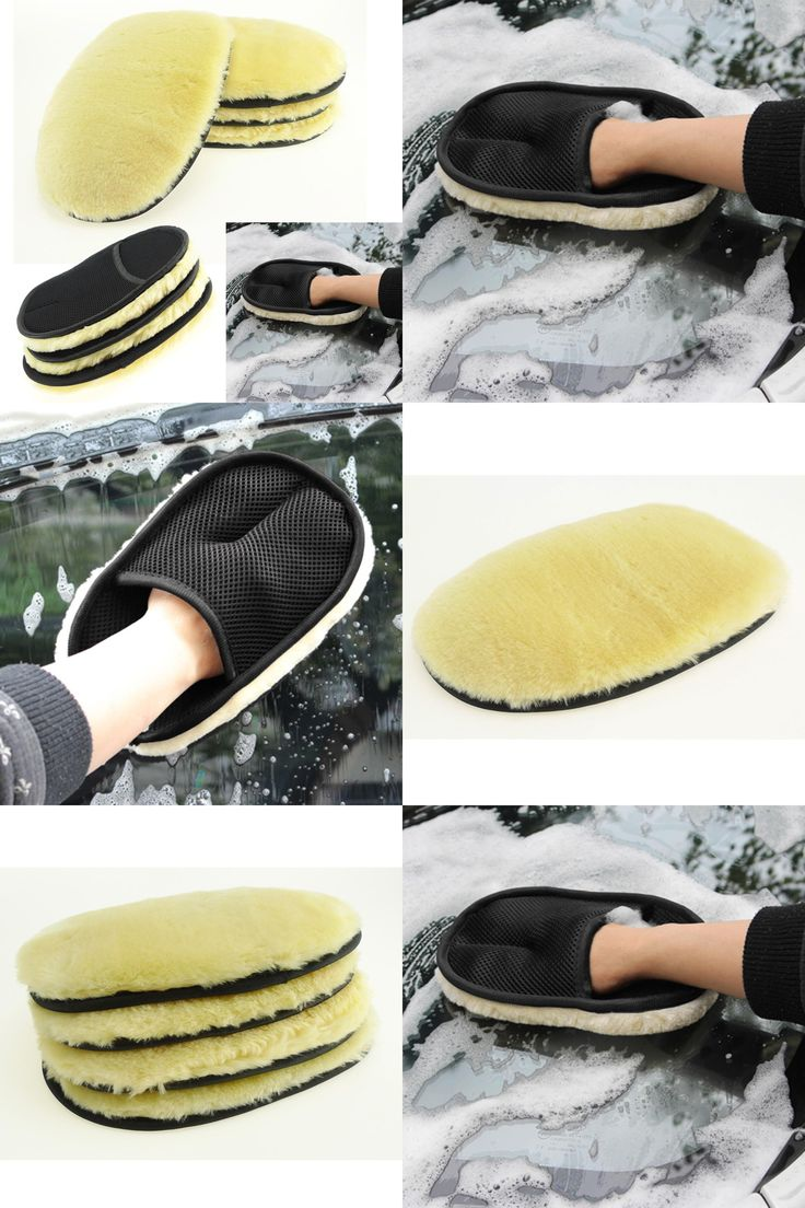[Visit to Buy] Sheepskin gloves car washing glove washing household cleaning gloves beauty mitten clean automobile mittens 2017 fashion new #Advertisement