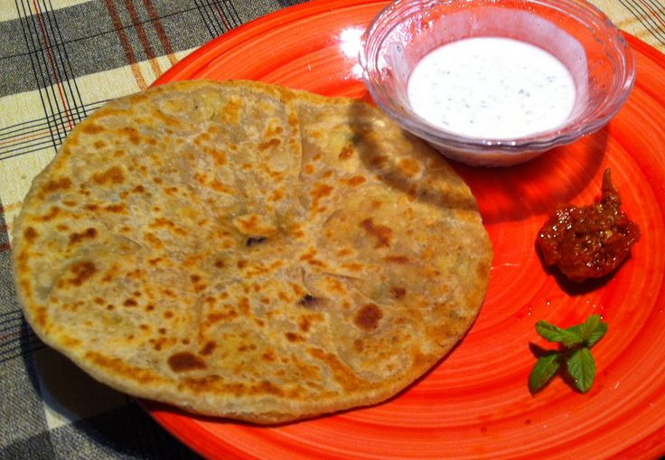 Yummy Flatbread filled with delicious potato vegeatble filling or any stuffing. This is a famous breakfast recipe in India. Can be eaten anytime. Try today.