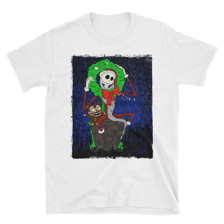 Nightmare Before Christmas Jack Skellington Short-Sleeve Unisex T-Shirt