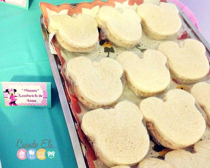 sandwich de atún - oruga de uvas - Meriendas Saludables Para Fiestas Infantiles