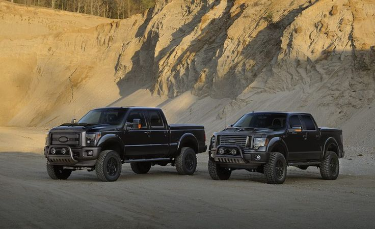 Ford Black Ops series trucks
