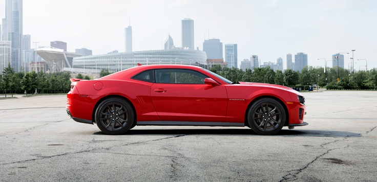 2012 Chevrolet Camaro ZL1 Performance Sports Car in Victory Red