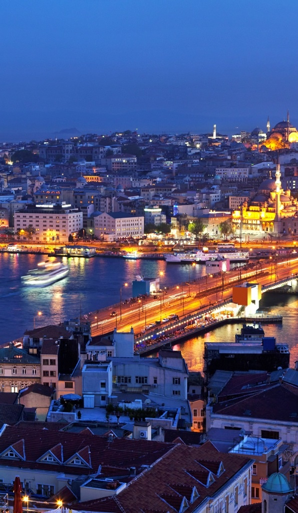 Istanbul, Turkey.  Check. Been there.