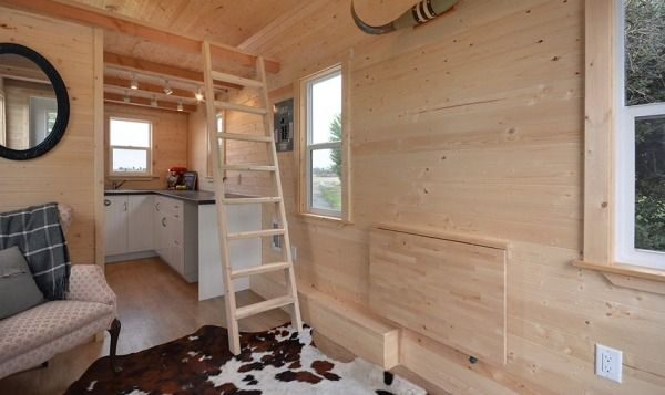 Cabin in the Woods Edition Tiny House by Tiny Living Homes Photo