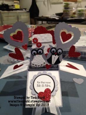 Stampin' Up! Mr & Mrs. Card Box