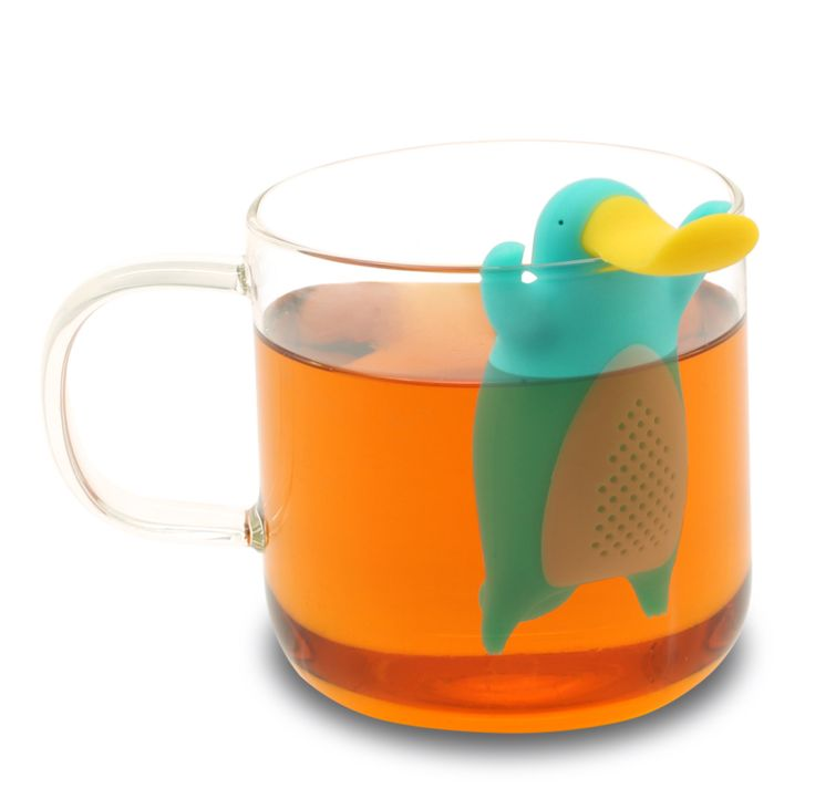 This is Peri, a fun Platypus Tea Infuser