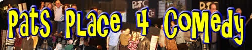 Pats Place 4 Comedy, a monthly comedy show in Nutley, NJ Produced and Hosted by Randi Lupo