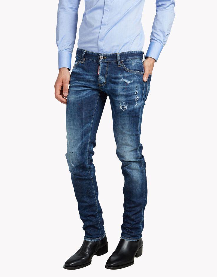 Slim Jeans - 5 Bolsillos Hombre en la tienda online oficial de Dsquared2