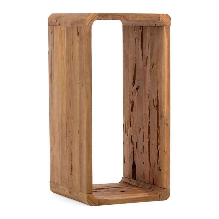 Regal Woody, 2 Größen, Teakholz Jetzt bestellen unter: http://www.woonio.de/produkt/regal-woody-2-groessen-teakholz/