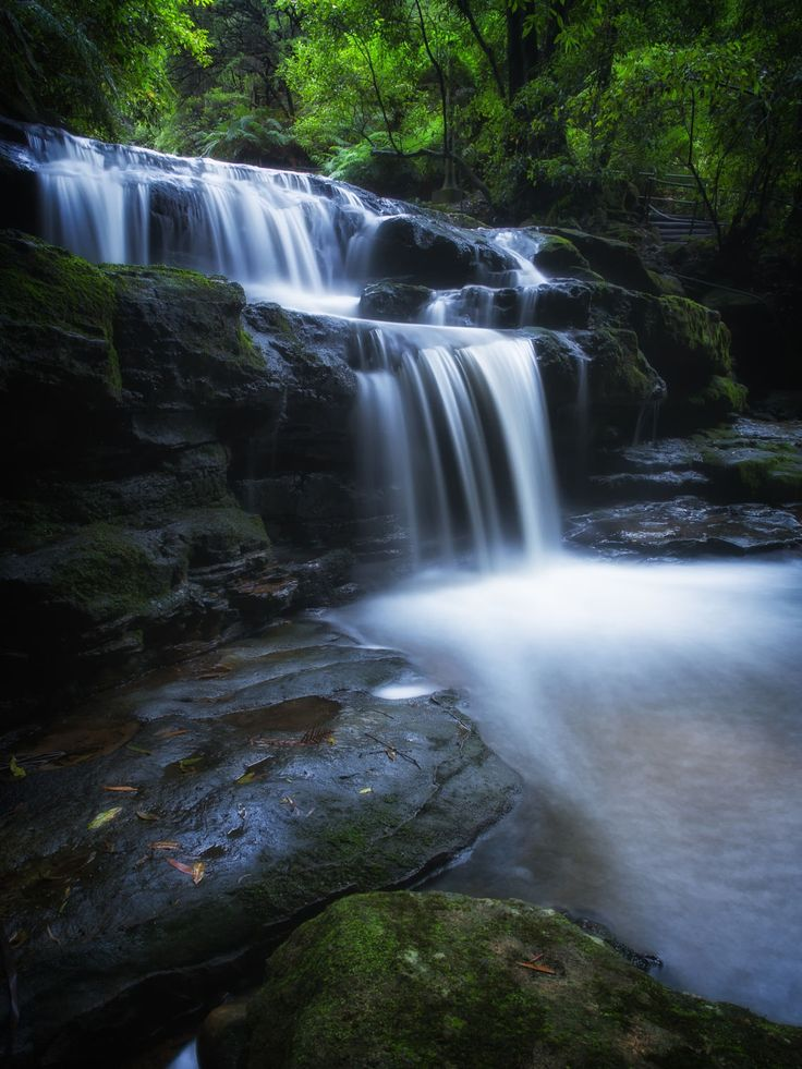 Leura Cascades NSW by PaulEmmingsPhotography on 500px