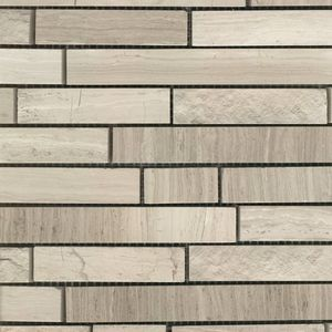 Product ID:MARTASSODW 12X12 Tasso Driftwood Mosaic #Profiletile