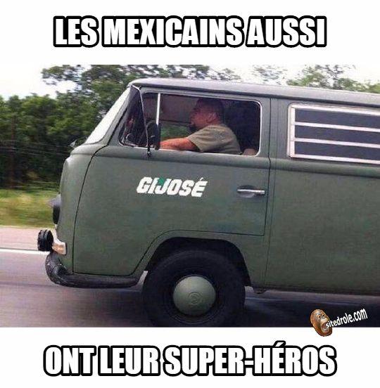 Super-Héros Mexicain... image drole