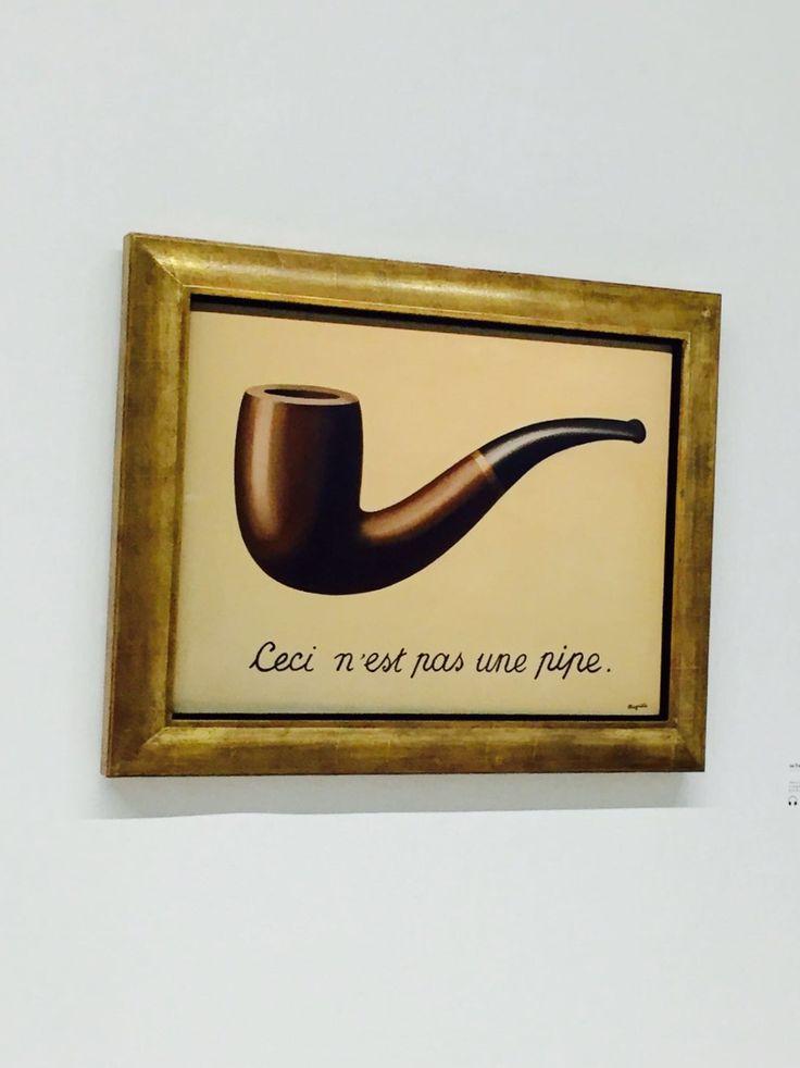 Magritte, La trahison des images @Pompidou Paris
