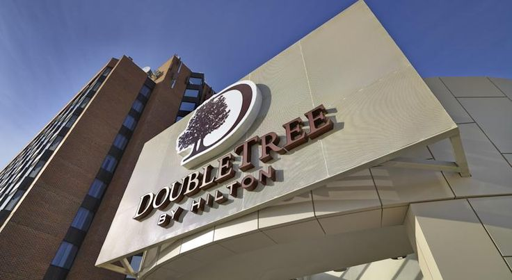 "DoubleTree by Hilton West Edmonton Edmonton An on-site restaurant with bar is offered at this Edmonton hotel.  Free Wi-Fi and a 42"" flat-screen cable TV features in each guest room.  West Edmonton Mall is less than 7 minutes' drive."